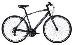 2018 Tommaso Sorrento Hybrid Shimano Road Bike – Black/Grey – XL