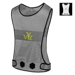 The 247 Viz Blaze Reflective Vest 360 – Bee Seen from All Angles While Running, Walking Jo ...
