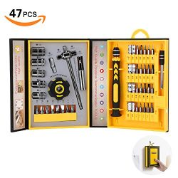 Screwdriver Bit Set Socket Wrenches, Professional Electronics Precision Magnetic Driver Micro Re ...