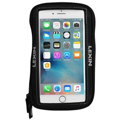 LEXIN Mtb03 Big Size Black Super Cool Motorcycle/Sportbike Magnetic Tank Bag/Pouch Phone Holder/Case