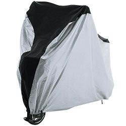 REEHUT Bike Cover – 210T Polyester/210D Oxford XL-1 Bike Heavy Duty Ripstop Material, Wate ...
