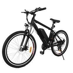 NEW IN 2018 Fast Electric Mountain Bicycle for Adults with Removable Lithium-ion Battery Integra ...