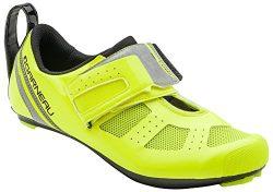 Louis Garneau Tri X-Speed 3 Triathlon Bike Shoes, Bright Yellow, US (13), EU (49)