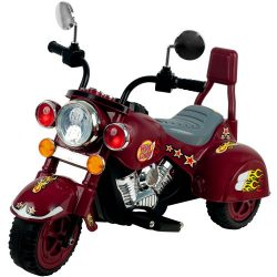 Ride on Toy, 3 Wheel Trike Chopper Motorcycle for Kids by Lil' Rider – Battery Power ...