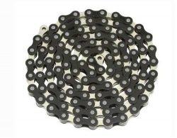 YBN Chain 1/2×1/8×112 Black/Chrome. for bicycle Chain, bike chain, lowrider bikes, bea ...