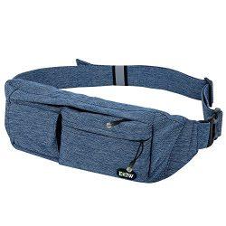 EOTW Waist Pocket Travel Pouch Sports Phone Holder Travel Pocket Fanny Pack Running Belt Waist P ...