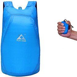 Lightweight Backpack 20L Waterproof Handy Daypack Outdoor Folding Rucksack Shoulder Bag for Wome ...
