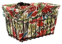 Cruiser Candy Wild Tropical Bicycle Basket Liner