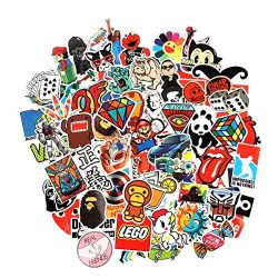 8 Series Stickers 100 pcs/pack Stickers Variety Vinyl Car Sticker Motorcycle Bicycle Luggage Dec ...