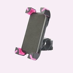 Bike Cell Phone Mount Holder Mobile Phone Mount for Bicycle Motorcycle Handlebar Phone Mount for ...