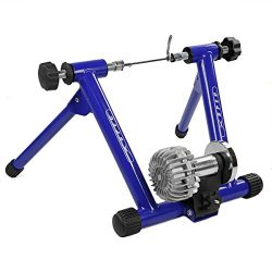 Xspect Fluid Exercise Bike Trainer Stand Blue with Fluid Resistance, Indoor Bike Cycling Stand