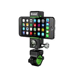 CAILIN Bike Mount, Universal Cell Phone Bicycle Rack Handlebar & Motorcycle Holder Cradle,An ...