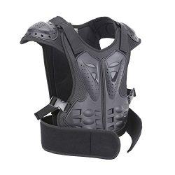 BARHAR Kids Dirt Bike Body Chest Spine Protector Armor Vest Protective Gear for Dirtbike Bike Mo ...