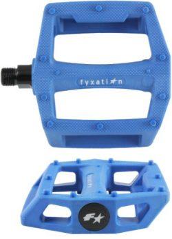 Fyxation Gates BMX Platform Pedal, Blue