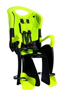 Bellelli Tiger Baby CarrierChild Bike Seat – Clamp, Yellow – 50lbs.