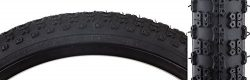 Sunlite MX3 BMX Tires, 20″ x 1.75″, Black/Black