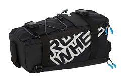 Roswheel Lohas Series 141276 Water Resistant Rear Rack Trunk Cargo Bag, 5L, Black