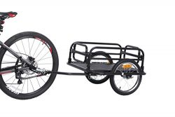 Sepnine foldable bicycle cargo trailer large sized 20300 (black)