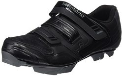 Shimano SH-XC31 Mountain Bike Shoes – Men's Black, 42.0