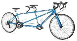 Giordano Viaggio Tandem Road Bike, Blue, 20″/One Size