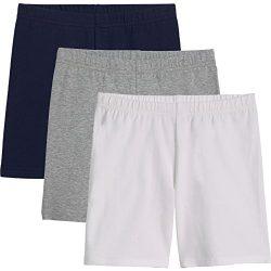 KIDPIK Girls Bike Shorts (3Pack) S Spring Or Summer Short Sets for Athletic Teens