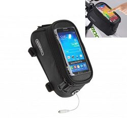 Bicycle Bags Bike Bag Bicycle Front Tube Frame Cycling Packages Touch Screen Mobile Phone Bags P ...