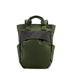 """Crumpler Hybrid Tote-Style Bag With 13"""" Padded Laptop Compartment (Tactical Green)"""