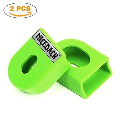 NICEDACK Bicycle Crankset Protective Cover, 2 PCS Sleeve Protector Mountain Road Bike Arm Boots  ...