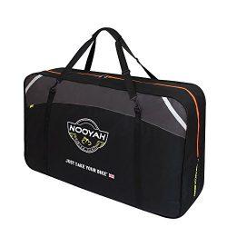 Bike Travel Bag 26 Inch Folding Bike Carry Bag Cycling Carrying Travel Case for Car Black