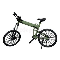 Green Foldable Bike Bicycle for 1/6 Scale 12″ Hot Toys Phicen Action Figure