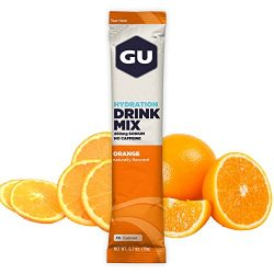 GU Hydration Drink Mix, Orange, 24 Count