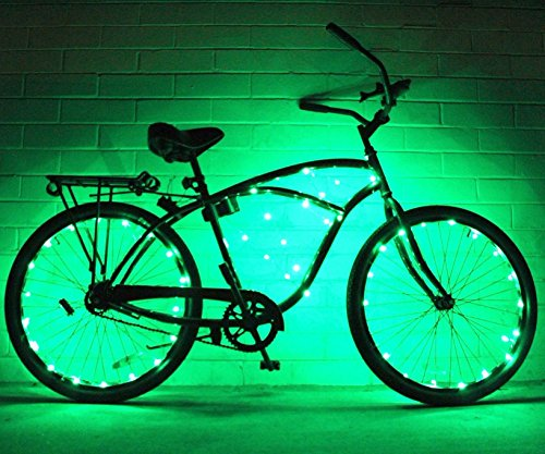 Bike Wheel Lights 2 Pack Colorful Light Accessory For