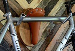 "Bicycle Taxidermy Bike Wall Display Rack — ""The Longhorn"""