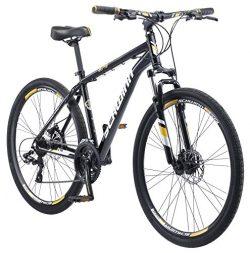 Schwinn Men's GTX Elite Dual Sport Frame 700C Wheel Bicycle, Black, 18″/One Size
