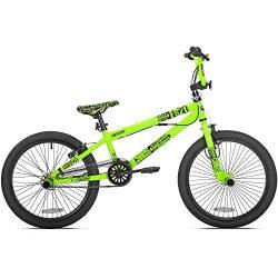 20″ Chaos Boys' BMX Bike Neon Green