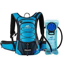 RUPUMPACK Insulated Hydration Backpack Pack with 2L Water Bladder – Keeps Liquid Cool up t ...