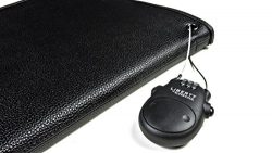 Liberty Safe Retractable Cable Lock, (Travel, Desk, Vehicle, Handgun Case, and More)