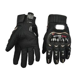 Happy Hours Anti Slip Ergonomic Design 3D Hard Shell Protective Gear Motorcycle Sport Racing Bik ...