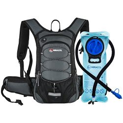 MIRACOL Hydration Backpack with Free Water Bladder, Thermal Insulation Hydration Pack Keeps Liqu ...