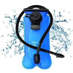 Hydration Bladder 2 Liter 3 Liter Water Bladder Reservoir Leak Proof for Cycling Camping Hiking  ...