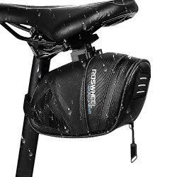 Winkeyes 1.6L Bicycle Saddle Bag, Waterproof Bike Pack, Cycling Mountain Road MTB Back Seat Bike ...