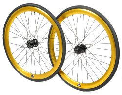Retrospec Bicycles Mantra Fixed-Gear/Single-Speed Wheelset with 700 x 25C Kenda Kwest Tires and  ...