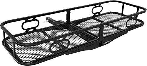 AmazonBasics Hitch Cargo Carrier for 2 Inch Receivers