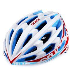 Gonex Adult Bike Helmet, Lightweight Ventilated Road Cycling Helmet,CPSC Certified (L, White)