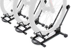 Bikehand Bike Floor Parking Rack Storage Stand Bicycle Pack of 3