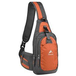 Sling Bag, MALEDEN Water Resistant Outdoor Shoulder Backpack Chest Pack Crossbody Bags for Women ...