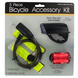 Kole Imports Bicycle Accessory Kit – Set of 2