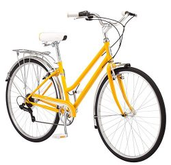 Schwinn Wayfarer Hybrid 700C Wheel Bicycle, Mango, 16″/Small