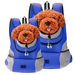 CozyCabin Latest Style Comfortable Dog Cat Pet Carrier Backpack Travel Carrier Bag Front for Sma ...