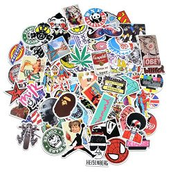 Stickers [100 pcs], Breezypals Laptop Stickers Car Motorcycle Bicycle Luggage Decal Graffiti Pat ...